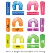 Translucent Tall Fun Coil - Translucent Coil Spring Shape Maker & Variety