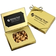 Gold Credit Card Gift Box with Cashews - Gold Credit Card Gift Box with Cashews