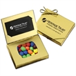 Gold Credit Card Gift Box with Peanut chocolates - Gold Credit Card Gift Box with Peanut chocolates