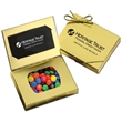 Gold Credit Card Gift Box with chocolates