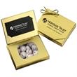 Gold Credit Card Gift Box with Chocolate Baseballs
