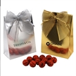 Chocolate Basketballs  in a Stand Up Gift Box with Bow