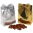 Almonds in a Stand Up Gift Box with Bow