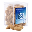 Cashews in a Clear Acrylic Square Box