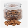 Almonds in a Glass Jar with Lid