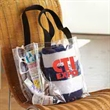 The Fan Stadium Tote - The Fan Stadium Tote. Score a bunch of extra points with your clientele using this stadium tote as a promotional giveaway!