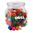 Gumballs in a Large Glass Jar with Lid