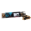 """Trail Mix in a 6 """" Plastic Tube with Metal Cap"""