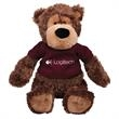 """Gund (R) Hugo Plush Teddy Bear - Teddy bear, 14"""", sitting size is 10"""""""