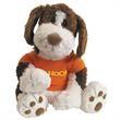 "Gund (R) Benjamin Plush Stuffed Dog  - Stuffed brown and white toy dog, 9.5""."