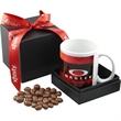 Gift Box with Mug & Choc Covered Peanuts - Gift Box with Mug & Choc Covered Peanuts