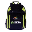 Grea Tech Compu-Backpack - Backpack with padded shoulder strap, zippered laptop/mobile sleeve.