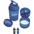 17 oz.Grande Shaker - 17 ounce shaker with filter screen to mix product, storage and removable bottom.