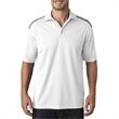 Adult Cool & Dry 2-Tone Mesh Pique Polo  - Adult Cool & Dry 2-Tone Mesh Pique Polo