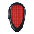Light Up Reflector - Clip On - Red - Light Up Reflector - Clip On - Red