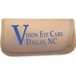 Eyeglass case - Eyeglass case with foam lining and binding around edges.