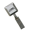 """Silver Tract Retractable Badge Holder - Silver tract badge holder with 30"""" retractable nylon cord and swivel alligator clip on the back."""