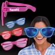 Jumbo Novelty Costume Sunglasses - Jumbo sized novelty costume sunglasses in an assortment of colors.
