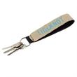 Burlap-Neoprene Wrist Strap Key Holder