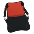 """15.4"""" Neoprene Laptop Bag - 15.4"""" neoprene laptop computer bag with secure padded inner compartment, accessory organizer and adjustable padded shoulder strap."""
