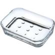 "Aspen Soap Dish - Aspen acrylic soap dish, 4 11/16"" x 3 3/32"" x 1 5/32"" h."