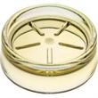 """Round Soap Dish - Round acrylic soap dish, 3 1/8"""" dia x 1 3/16"""" h."""