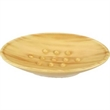 "Woodvein Soap Dish - Acrylic woodvein design soap dish. 6 1/8"" x 3 3/4"" x 1 1/4"" h."