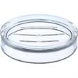 "Oval Soap Dish - Oval acrylic soap dish, 5"" x 4"" x 1 1/8"" h."