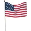 "4"" x 6"" USA stick flags"