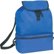 """Cooler with Foldable Backpack - Cooler with foldable backpack made of 600D polyester with PU. Cooler converts into backpack. Size: 11"""" x 15-1/2"""" x 5-1/2"""" (Open)."""