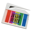Letter Opener with Sticky Flags - Letter opener tool with 5 different color flags.