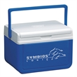 "Coleman 5 Quart (6 Can) Personal Cooler - 10 1/2"" x 8"" x 7"" cooler that holds up to six cans with flip lid that doubles as a serving tray from Coleman"