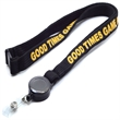 Tube Lanyard with Retractable Reel Combo