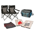 Outdoor Fun Package - Outdoor Fun Package with bean bag toss game, (2) chairs and cooler.