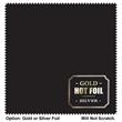 "6"" x 6"" Hot Foil Stamped Luxury MicroFiber Cloth - 6"" x 6"" Luxury Silky Soft MicroFiber Cloth, Beautiful Gold/Silver Hot Foil Stamp"