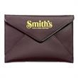 "Sienna Envelope Photo Holder - Holds up to thirty six 4"" x 6"" photos, secure snap closure and microfiber lining."