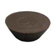 Chocolate Basket Weave Bowl