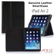 IPad Air 2 Genuine Leather Case with SmartCase Tech - Genuine leather executive case with hands-free reading for the NEW iPad Air.