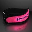 Light up pink LED armband for night safety