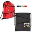 Dual Zipper String-a-Sling Backpack - Dual zipper backpack.