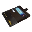 Tablet Case - Universal leather tablet case with magnetic tab closure and business card pocket. Scallop.