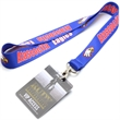 "USA Made 5/8"" Dye-Sublimation Lanyard with PVC ID Card"