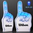 Light Up Blue #1 Foam Finger
