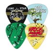PVC Guitar Picks - Custom imprinted full color photo imprinted guitar picks.