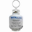4-Color Process Propane Tank Punch Key Tags