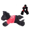 """8"""" Beau Horse with saddle one color imprint"""