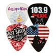 Celluloid Guitar Picks - Custom imprinted full color photo imprinted guitar picks.