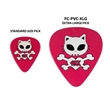 Oversized PVC Guitar Pick - Custom imprinted oversize guitar picks.