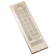Classic Cribbage Set - Solid Wood Continuous 3 Track Board - Competition Cribbage Set - Solid Walnut Wood Sprint 2 Track Board with Metal Pegs