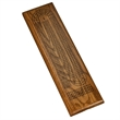 3 Track Solid Oak Dark Stained Wood Board - 3 Track Solid Oak Dark Stained Wood Board